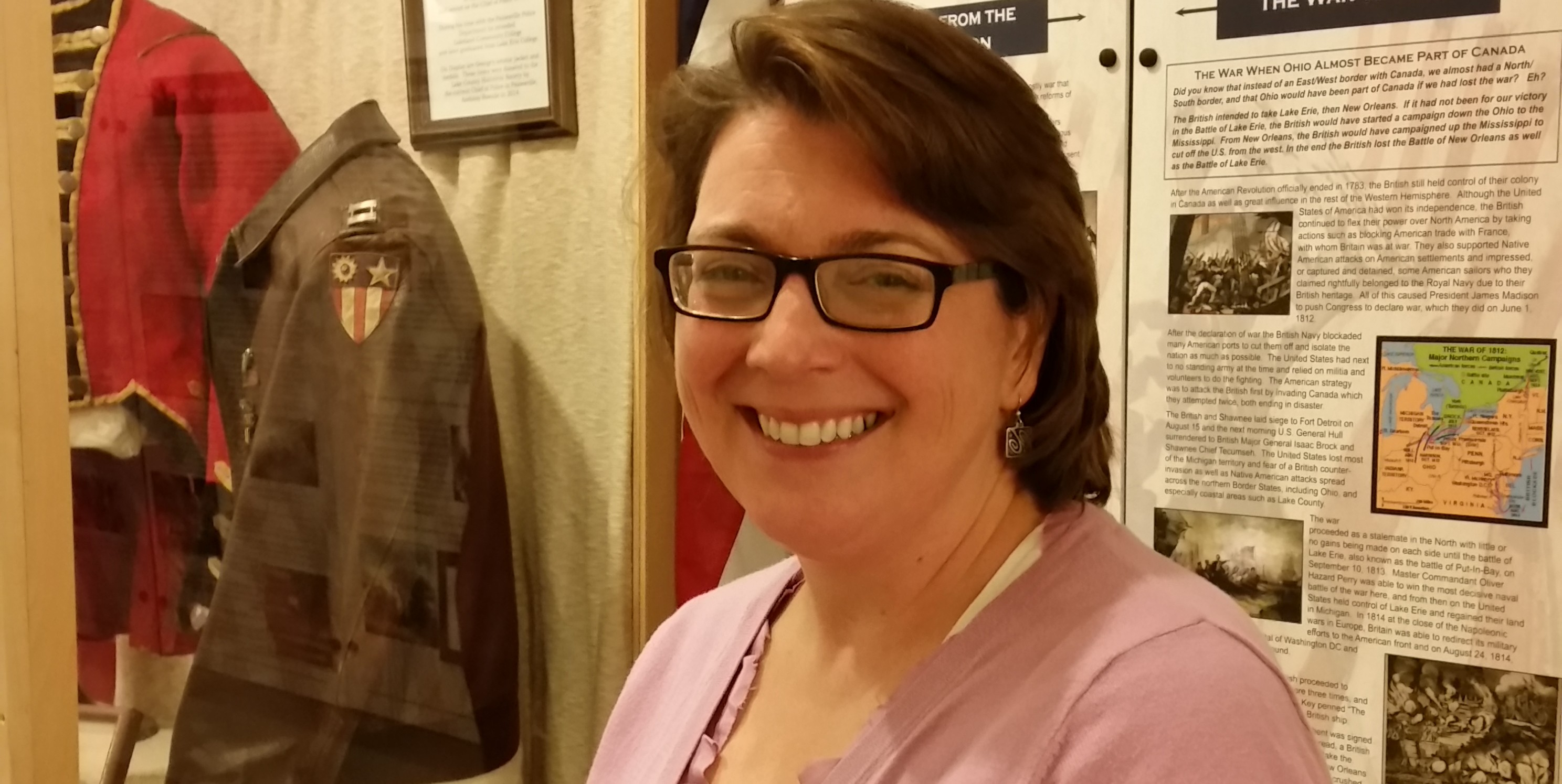 Mazie M. Adams, new Executive Director of the Lake County Historical Society.