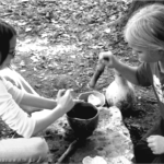 Grinding Corn in School Program
